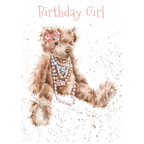 'Birthday Girl' Cute Greeting Card - Lady of the Lake