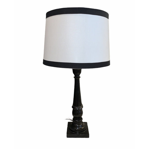 Black and White Lamp - Lady of the Lake