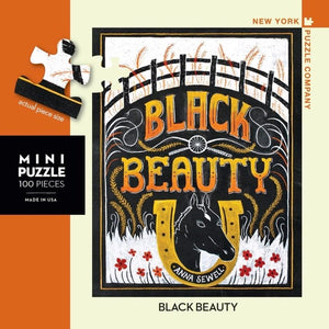 Black Beauty- Mini Puzzle - Lady of the Lake