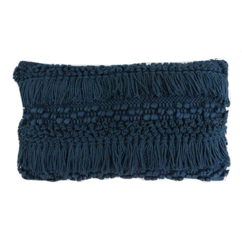 Blue Shag Lumbar Pillow - Lady of the Lake