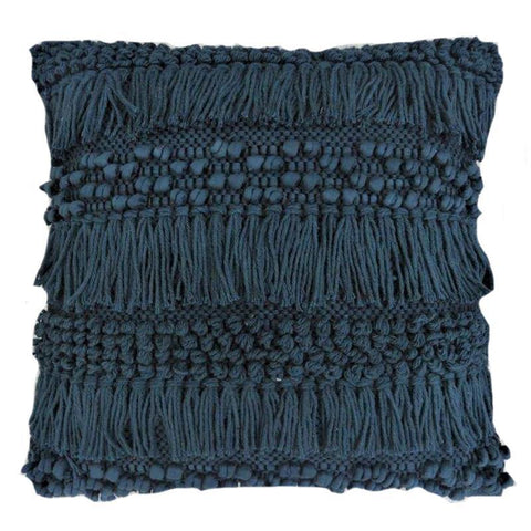 Blue Shag Pillow - Lady of the Lake