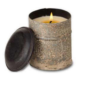 Bourbon Vanilla Candle in Vintage Spice Tin - Lady of the Lake
