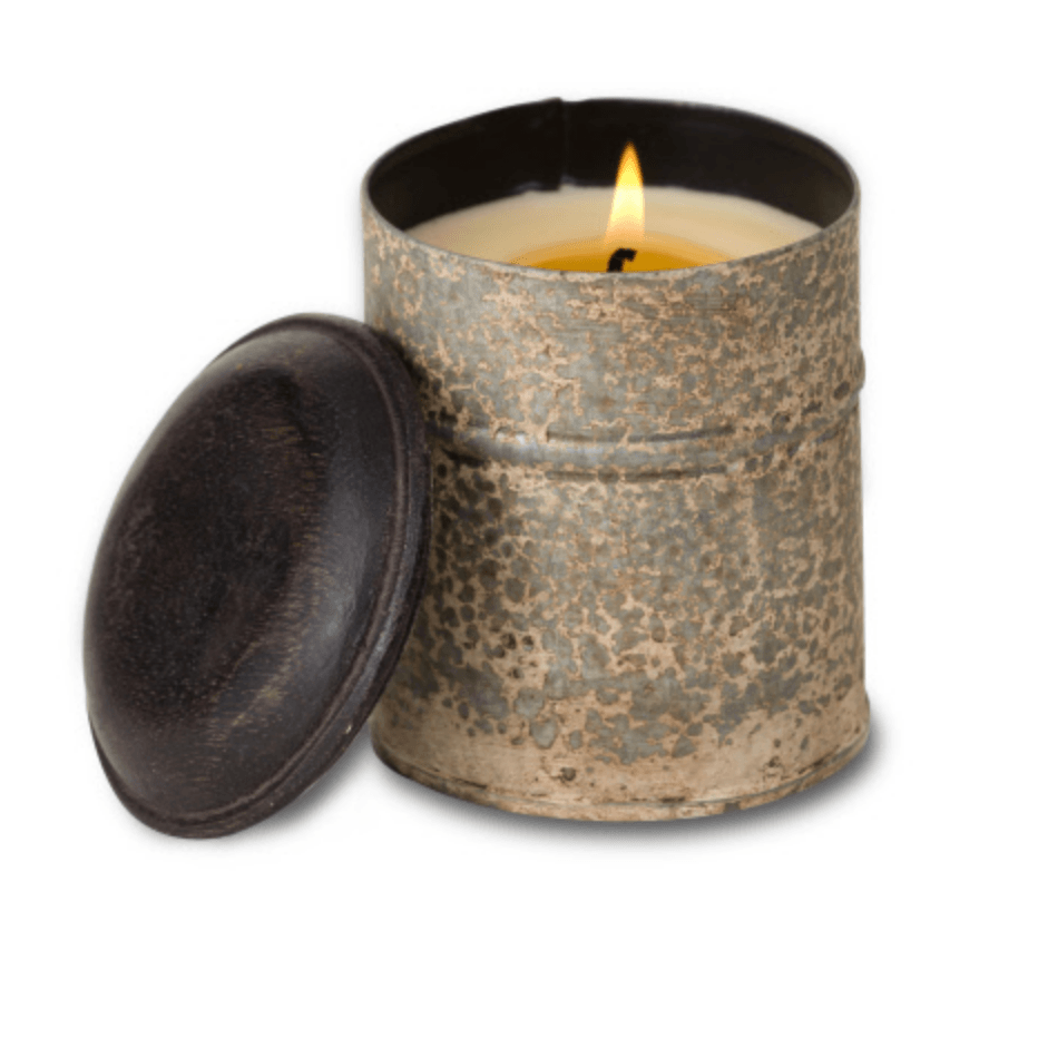 'Campfire' Candle in Vintage Spice Tin - Lady of the Lake