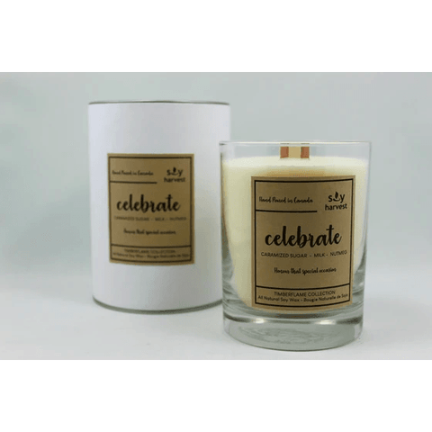 Celebrate Timberflame Candle - Lady of the Lake