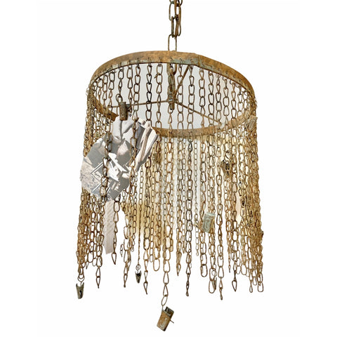 Chain Chandelier With Clips - Lady of the Lake