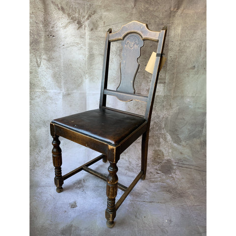 Chair with Leather Seat - Lady of the Lake
