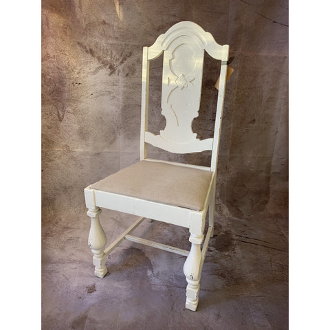 Chair with Linen Seat - Lady of the Lake