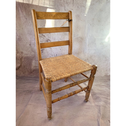 Chair With Woven Seat - Lady of the Lake