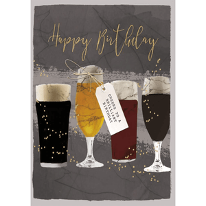 Cheers Happy Birthday - Greeting Card - Birthday - Lady of the Lake
