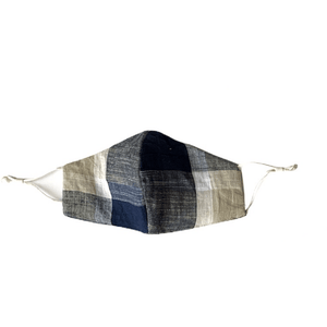 Comfy Cotton Thick Plaid Masks (Various Styles) - Lady of the Lake