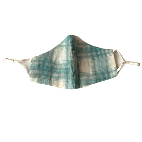 Comfy Cotton Thin Plaid Masks (Various Styles) - Lady of the Lake