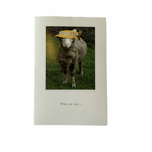 'Cute Sheep Birthday' Humourous Greeting Card - Lady of the Lake
