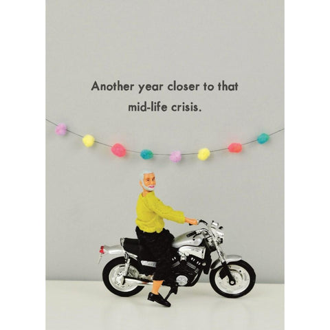 Ed Mid-Life Crisis - Greeting Card - Birthday - Lady of the Lake