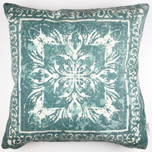 Ellery Pillow - Teal - Lady of the Lake