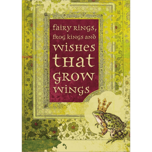 'Fairy Tale' Greeting Card with Frog King Illustration - Lady of the Lake