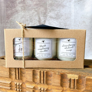Farmer's Daughter Trio Candle Set - Lady of the Lake