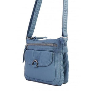 Faux Leather Satchel with Multi Pocket - Various Colours Available - Lady of the Lake