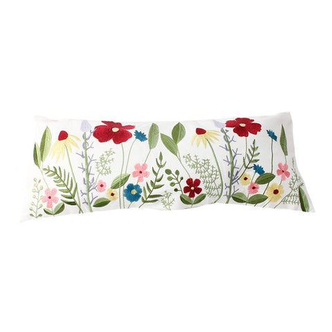 Flowers Lumbar Pillow - Lady of the Lake