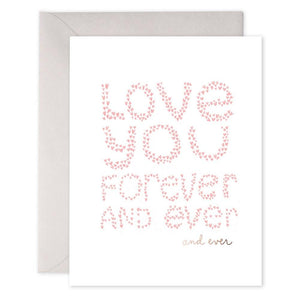 Forever and Ever - Greeting Card - Love - Lady of the Lake
