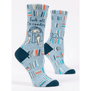 Fu*k Off I'm Reading Women's Socks - Lady of the Lake