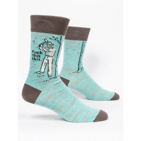 Fu*k This Shit Men's Socks - Lady of the Lake