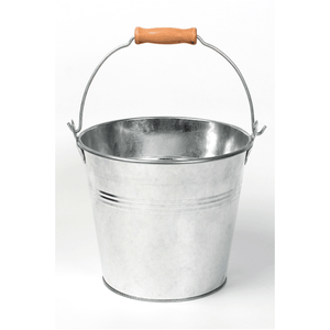 Galvanized Bucket with Handle - Lady of the Lake