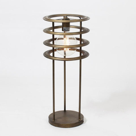 Golden Ring Table Lamp - Lady of the Lake
