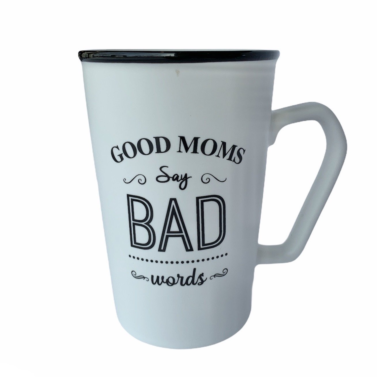 'Good Moms' Ceramic Mugs in White or Black - Lady of the Lake