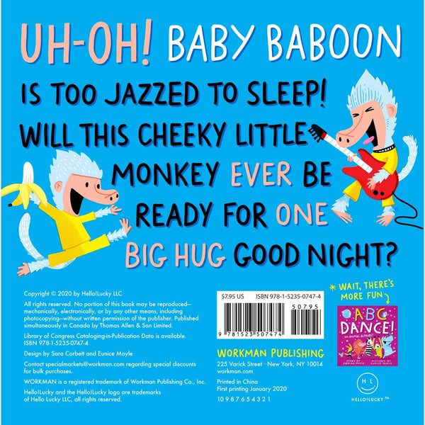 Good Night, Baboon! - A Bedtime Counting Book Board Book - Lady of the Lake