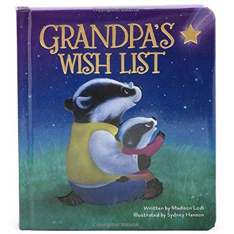 Grandpa's Wish List - Padded Board Book - Lady of the Lake