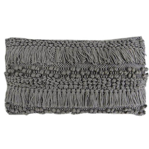 Grey Shag Lumbar Pillow - Lady of the Lake