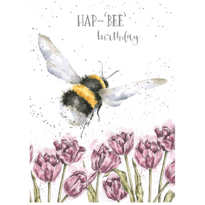 'Hap-'Bee' Birthday' Charming Greeting Card - Lady of the Lake
