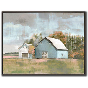 Harvest Store - Canvas in Floating Frame - Lady of the Lake