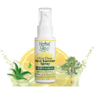Herbal Glo Ultra Clean Hand Sanitizer Spray - Lady of the Lake