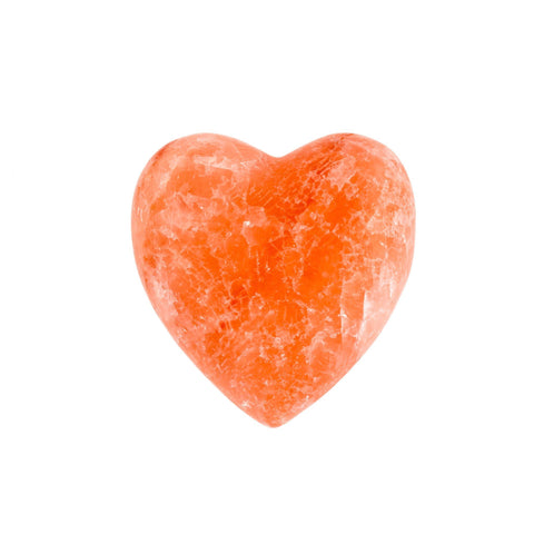 Himalayan Rock Salt Heart - Lady of the Lake