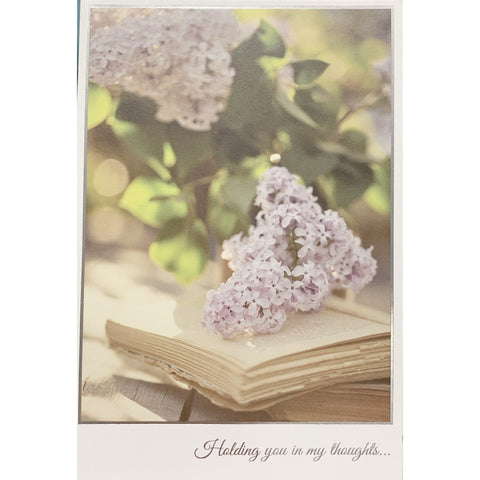 Holding You In My Thoughts - Greeting Card - Sympathy - Lady of the Lake