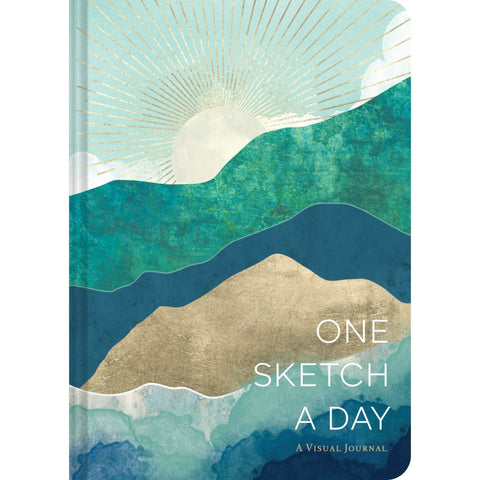 Horizons One Sketch a Day: A Visual Journal Diary - Lady of the Lake