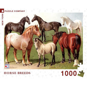 Horse Breeds - Puzzle - Lady of the Lake