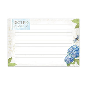 Hydrangea - Recipe Cards - Lady of the Lake