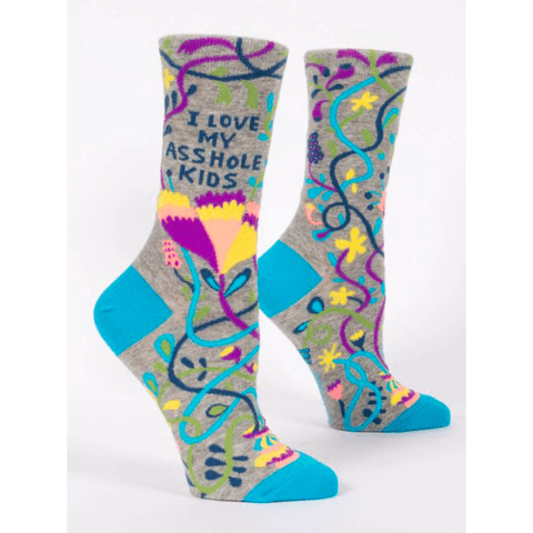 I Love My Asshole Kids Women's Socks - Lady of the Lake