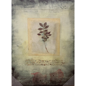 Leaf Elegance - Canvas - Lady of the Lake