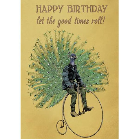 Let The Good Times Roll - Greeting Card - Birthday - Lady of the Lake