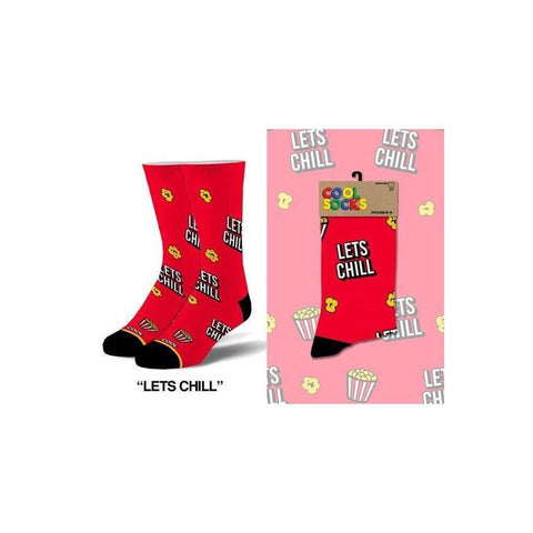 Let's Chill Men's Socks - Lady of the Lake