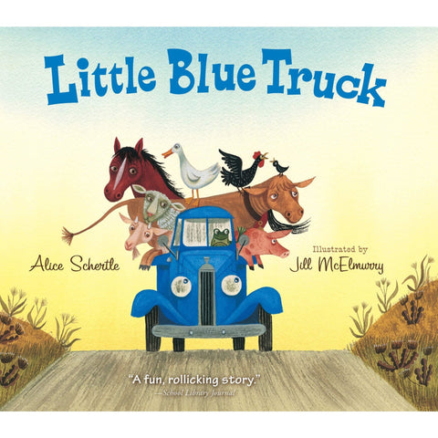 Little Blue Truck - Board Book - Lady of the Lake