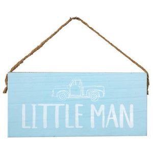 Little Man Sign - Lady of the Lake