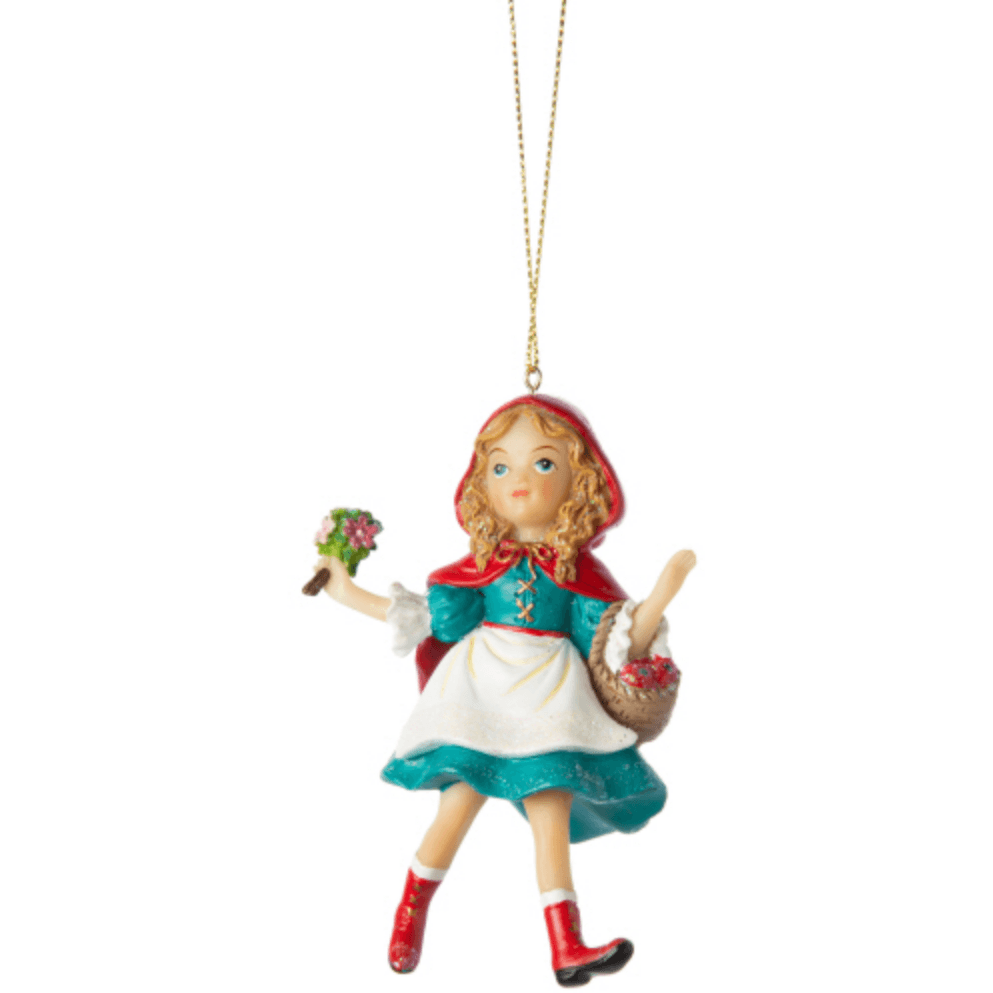 'Little Red Riding Hood' Christmas Ornament - Lady of the Lake