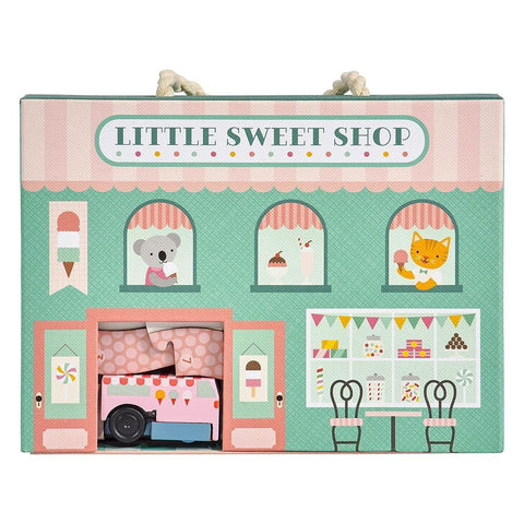 Little Sweet Shop - Wind Up And Go Play Set - Lady of the Lake