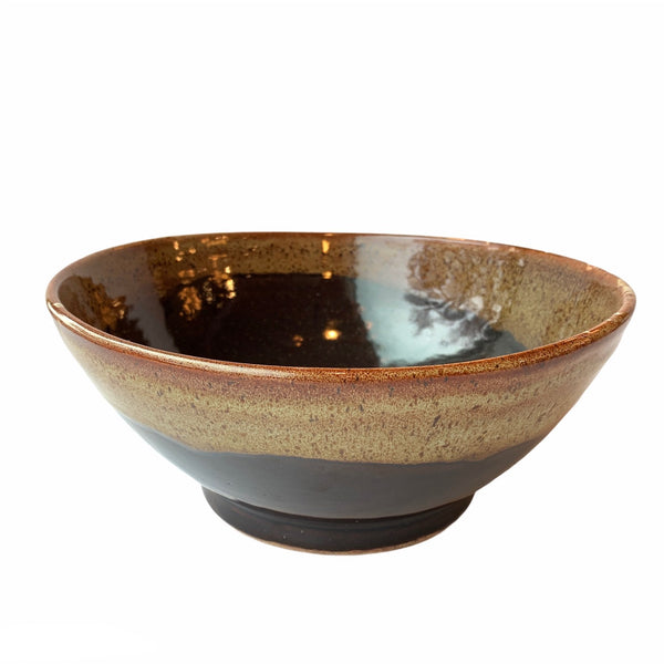 Medium Brown Pottery Bowl - Lady of the Lake