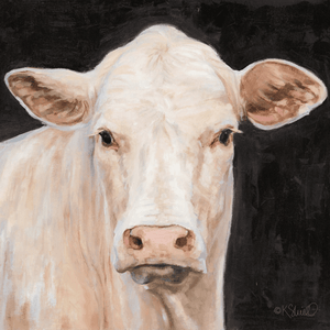 'Moo-Licious' Hand-Embellished Canvas Art - Lady of the Lake