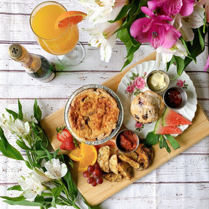 Mother's Day Weekend Brunch ~ Quiche & Mimosa - Lady of the Lake